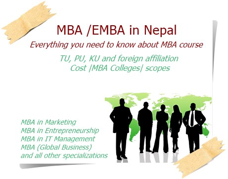 MBA in Nepal EMBA in Nepal Full information about MBA